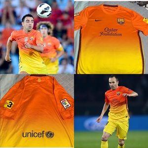2012/13 Nike Barcelona Away Dri-Fit Jersey